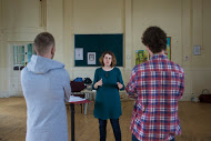 Director Rhian Hutchings in action